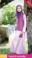 Nibras Teen Gamis NGT 02 Lavender