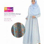 Gamis Nibras NS 08-A Biru
