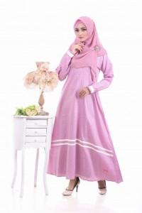 Gamis Nibras NS 13 Pink