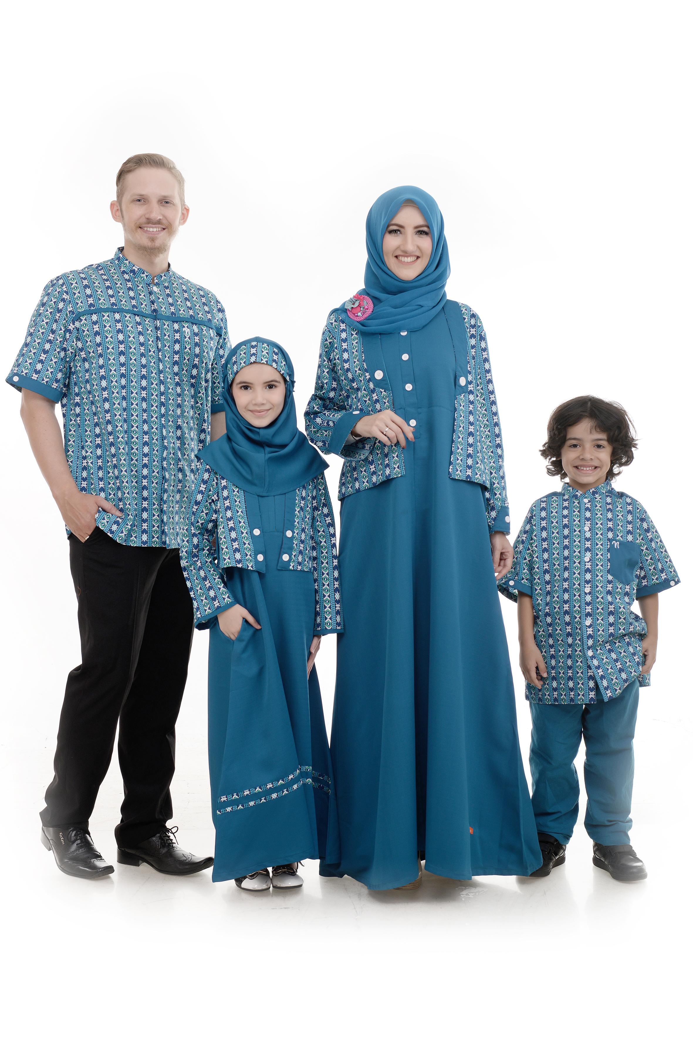 Baju gamis family Baju gamis elif