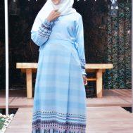 Gamis Nibras NS 26 Biru Muda
