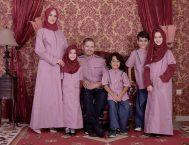 Nibras Sarimbit Familly SK 54 Pink Merah