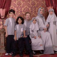 Nibras Sarimbit Family SK 52 Abu Silver