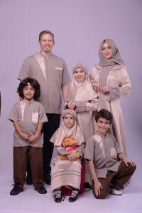Nibras Sarimbit Family SK 52 Cokelat Susu