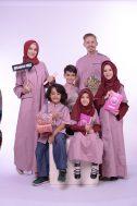Nibras Sarimbit Family SK 54 Merah