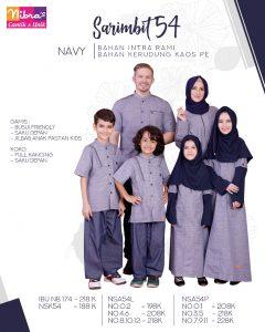Nibras Sarimbit Family SK 54 NAVY