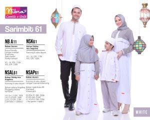 Sarimbit Nibras 61 Putih